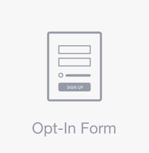 Opt-in Form